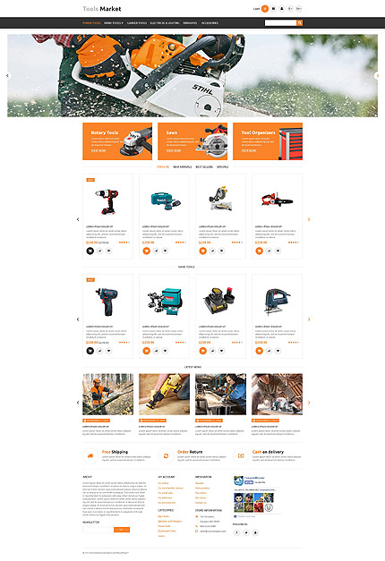 Most Popular Maintenance Services website inspirations at your coffee break? Browse for more PrestaShop #templates! // Regular price: $139 // Sources available: .PSD, .PHP, .TPL #Most Popular #Maintenance Services #PrestaShop