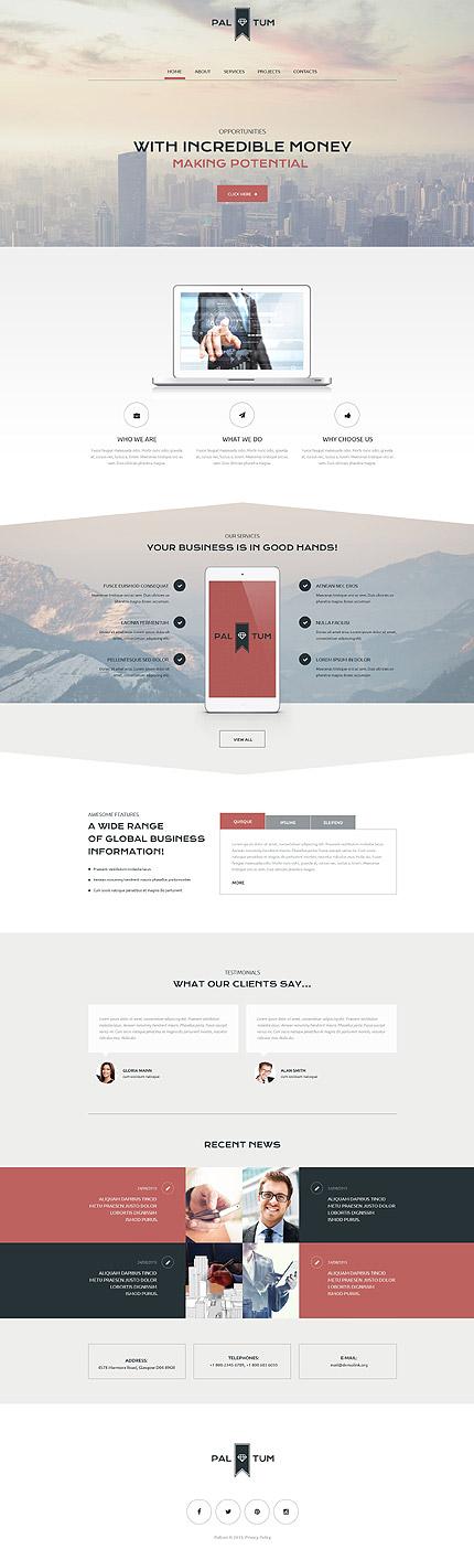 Type Website Templates