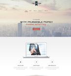 Responsive JavaScript Animated Template #55389