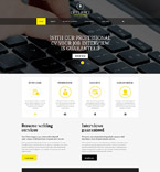Responsive JavaScript Animated Template #55405