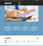 Responsive JavaScript Animated Template #55407