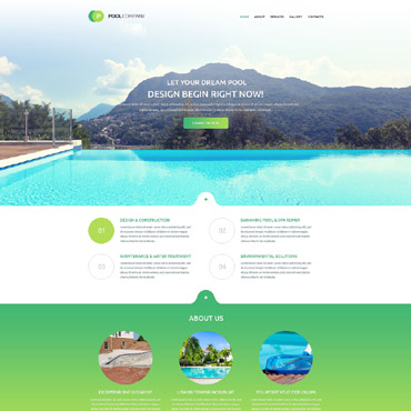 Website Template # 55408