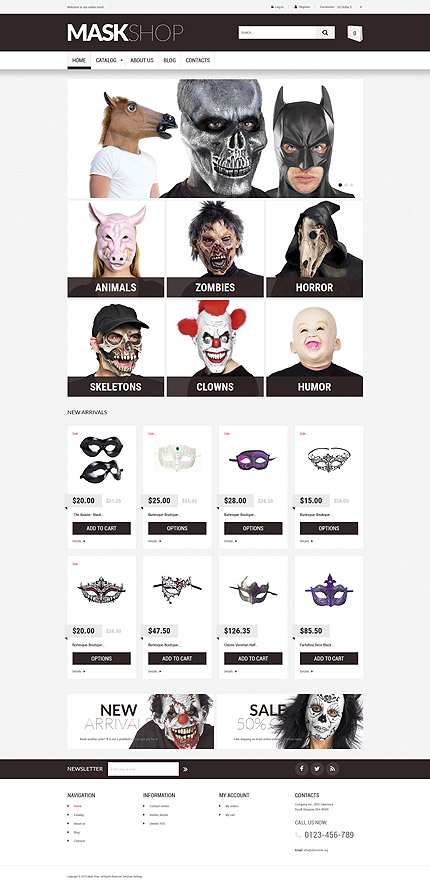 Entertainment website inspirations at your coffee break? Browse for more VirtueMart #templates! // Regular price: $139 // Sources available: .HTML,  .PSD, .PHP, .XML, .CSS, .JS #Entertainment #VirtueMart