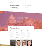 Responsive JavaScript Animated Template #55439
