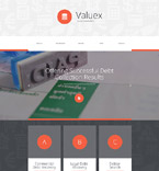 Responsive JavaScript Animated Template #55441
