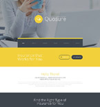 Responsive JavaScript Animated Template #55442