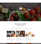 Responsive JavaScript Animated Template #55450