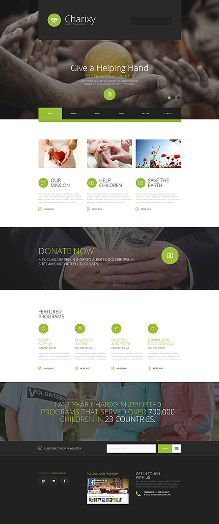 Joomla Main Page preview