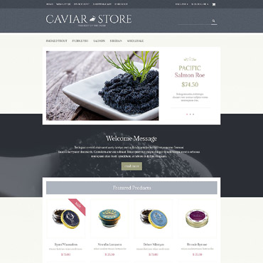 OpenCart Template # 55467