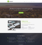 Responsive JavaScript Animated Template #55475