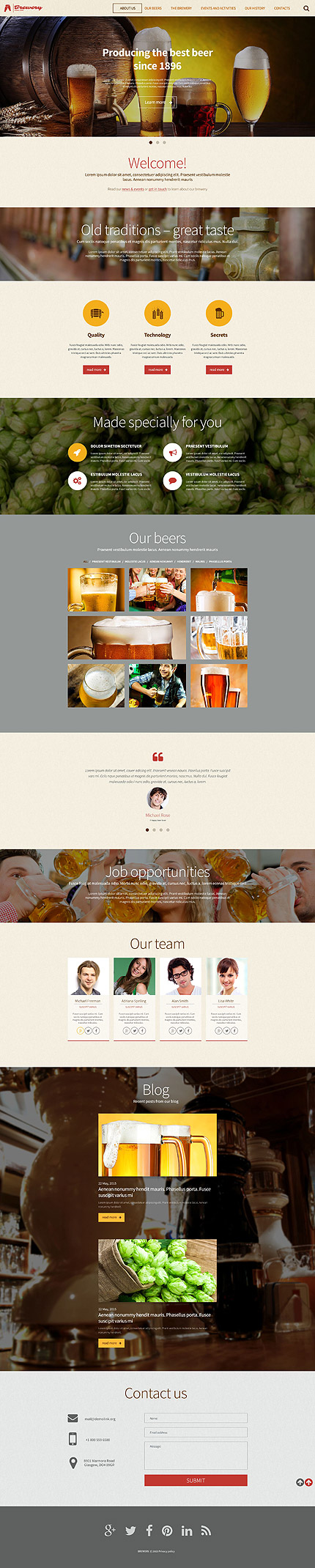 Cafe and Restaurant Most Popular website inspirations at your coffee break? Browse for more WordPress #templates! // Regular price: $79 // Sources available: .PSD, .PHP, This theme is widgetized #Cafe and Restaurant #Most Popular #WordPress