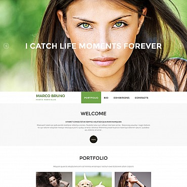Photo Gallery Template # 55495