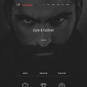Photo Gallery Template # 55496