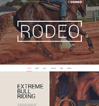 Rodeo Club WordPress Template