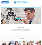 Responsive JavaScript Animated Template #55570
