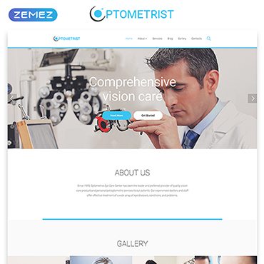 Website Template # 55570