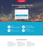 Gas Company Landing Page Template