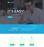 Responsive JavaScript Animated Template #55612