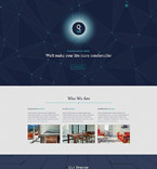 Responsive JavaScript Animated Template #55614