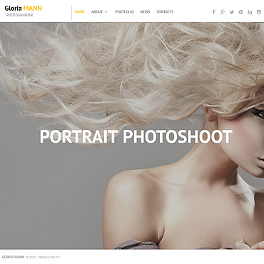 Photo Gallery Template # 55646