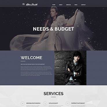 Photo Gallery Template # 55647