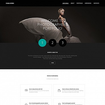 Photo Gallery Template # 55649