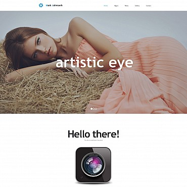 Photo Gallery Template # 55650