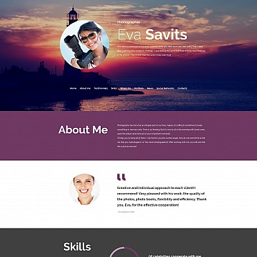 Photo Gallery Template # 55652