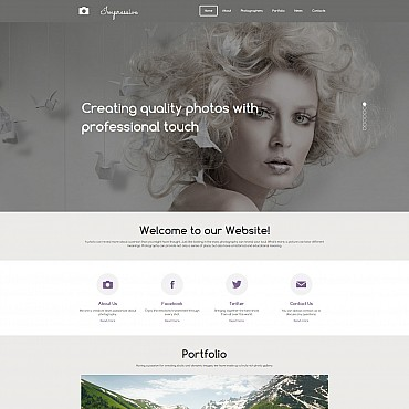 Photo Gallery Template # 55653