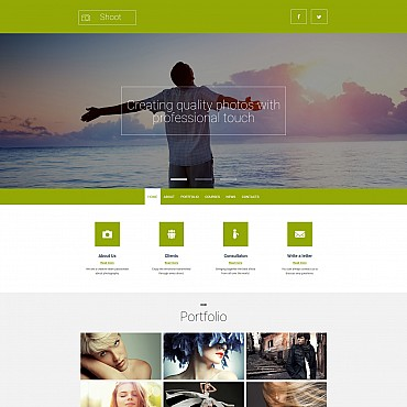 Photo Gallery Template # 55654