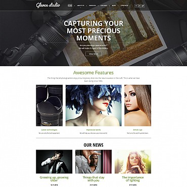 Photo Gallery Template # 55655