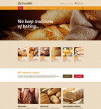 Responsive JavaScript Animated Template #55679