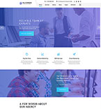 Responsive JavaScript Animated Template #55689