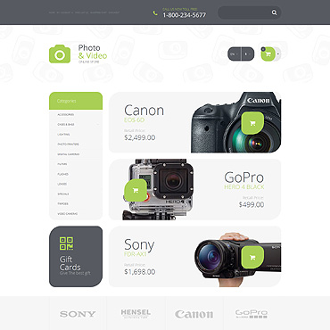 OpenCart Template # 55696