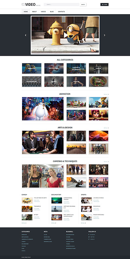 Media Most Popular website inspirations at your coffee break? Browse for more WordPress #templates! // Regular price: $79 // Sources available: .PSD, .PHP, This theme is widgetized #Media #Most Popular #WordPress