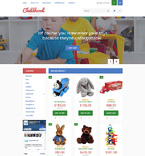 Toys Store OpenCart Template