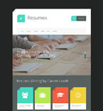 Responsive JavaScript Animated Template #55769
