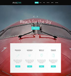 Responsive JavaScript Animated Template #55770