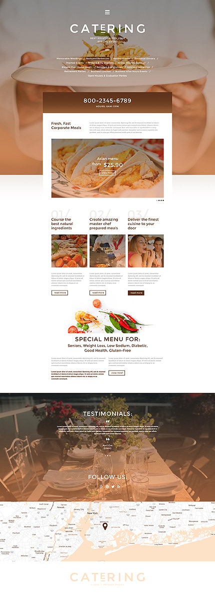Food & Drink Most Popular website inspirations at your coffee break? Browse for more Responsive JavaScript Animated #templates! // Regular price: $69 // Sources available: .HTML,  .PSD #Food & Drink #Most Popular #Responsive JavaScript Animated