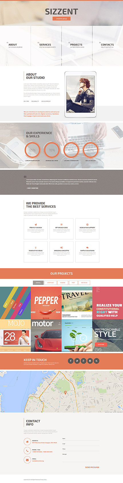 Web Design Most Popular website inspirations at your coffee break? Browse for more Responsive JavaScript Animated #templates! // Regular price: $69 // Sources available: .HTML,  .PSD #Web Design #Most Popular #Responsive JavaScript Animated