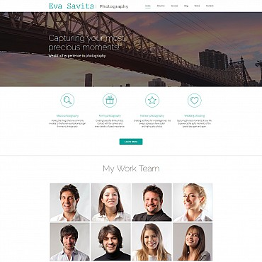 Photo Gallery Template # 56003