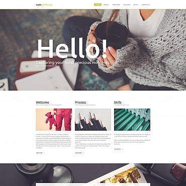 Photo Gallery Template # 56006