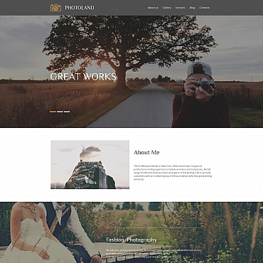 Photo Gallery Template # 56009