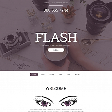 Photo Gallery Template # 56012