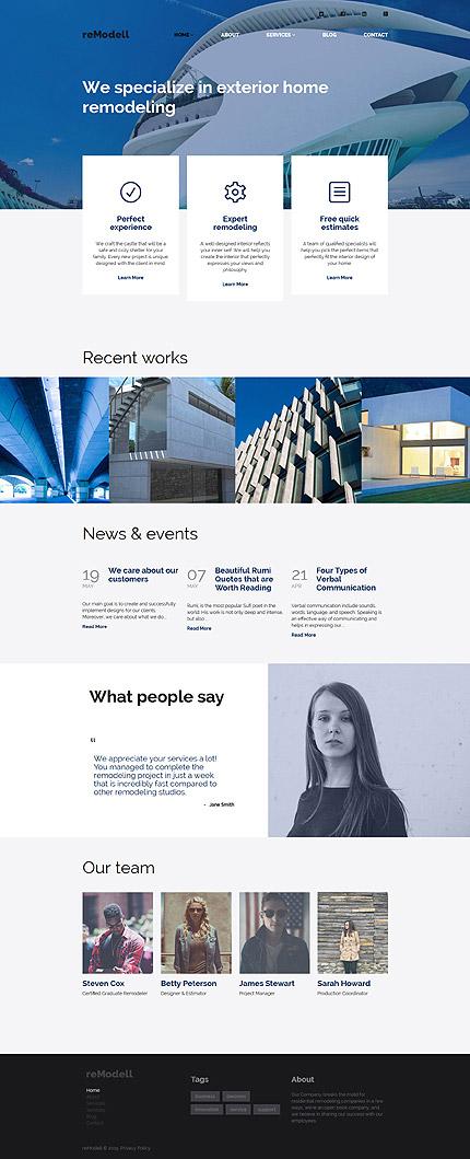 Architect WordPress Responsive Template