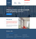 Responsive JavaScript Animated Template #56018