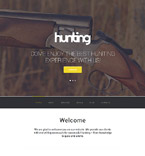 Hunting Club WordPress Template