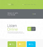 Responsive JavaScript Animated Template #56027