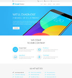 Responsive JavaScript Animated Template #56040