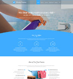 Responsive JavaScript Animated Template #56043